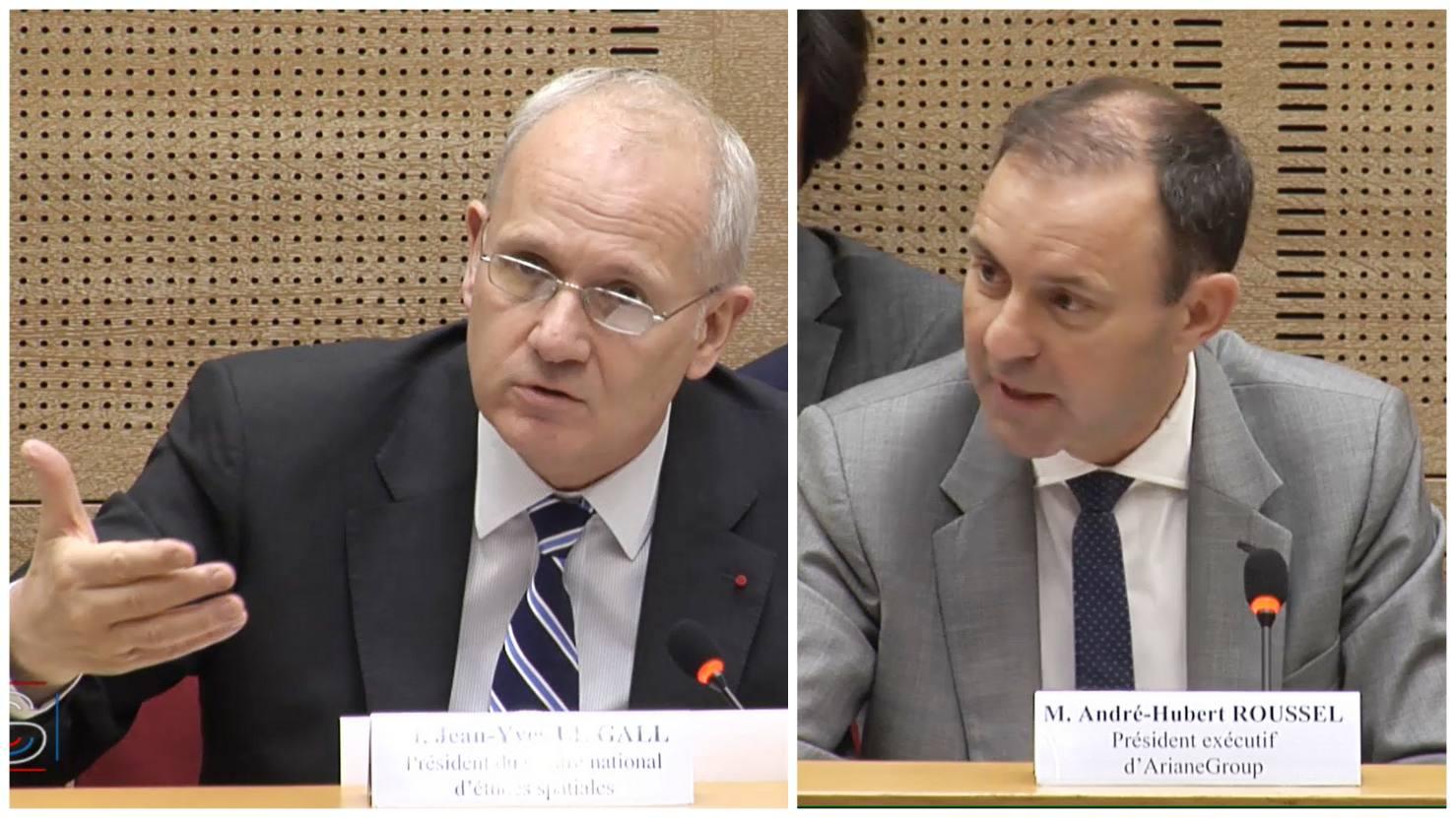 La politique des lanceurs spatiaux présentée au Sénat