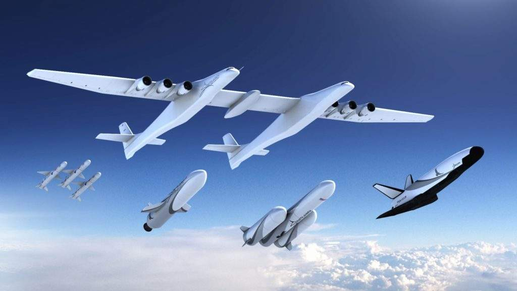 Stratolaunch unveils launch vehicle family