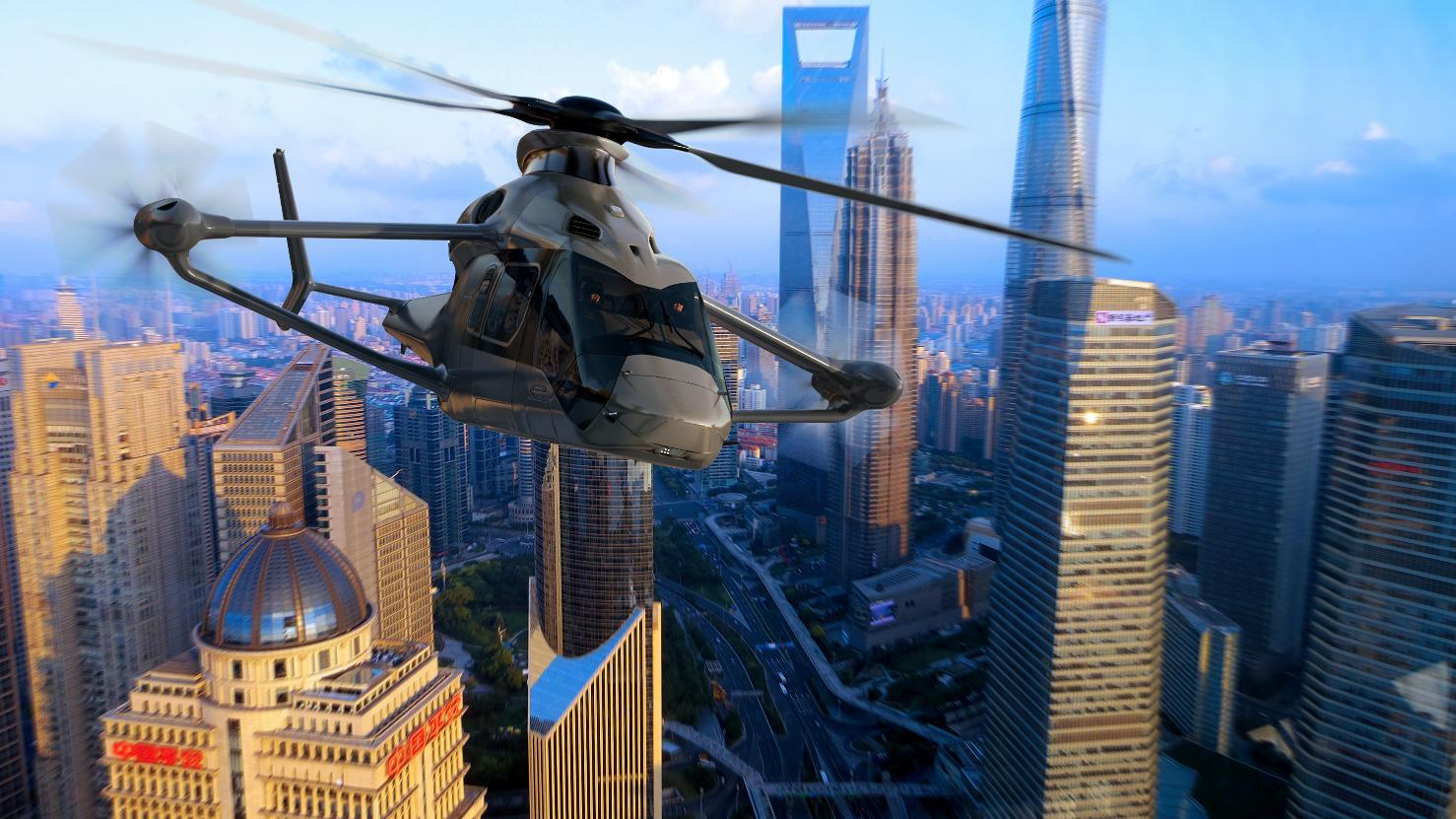 Bourget 2017 : Airbus Helicopters dévoile le Racer