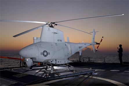 Un drone hélicoptère Fire Scout de l'US Navy se crashe sur la LCS Charleston à San Diego