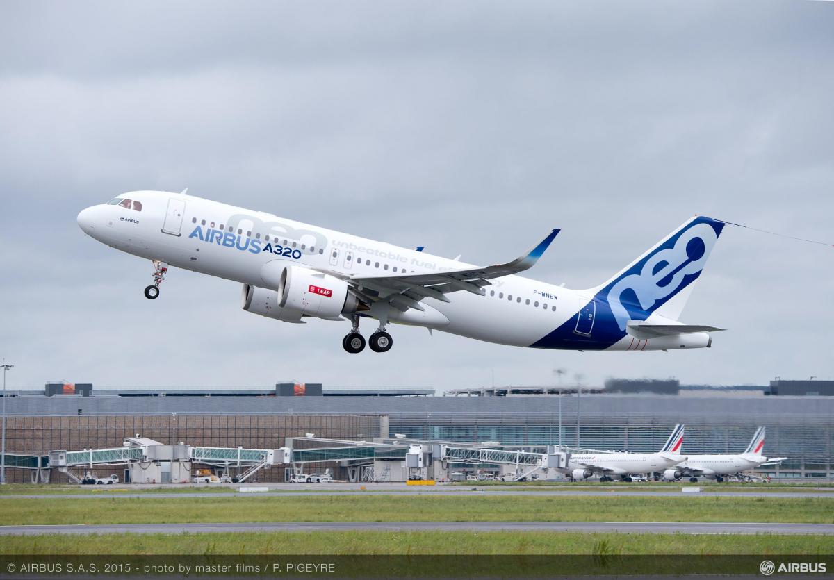 Tunisair va reprendre 5 Airbus A320neo, en leasing