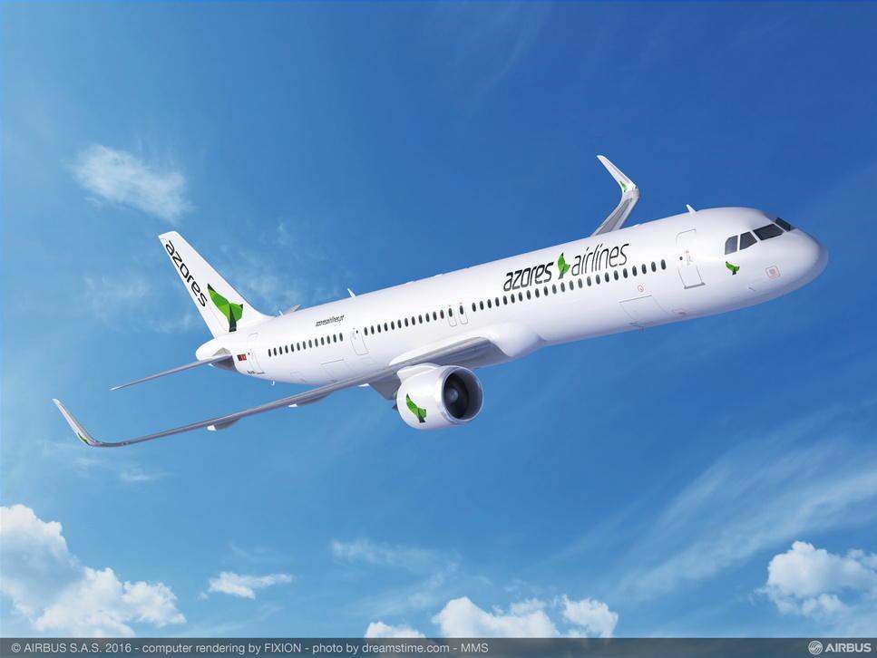 Azores Airlines passe à son tour à l'Airbus A321neo transatlantique