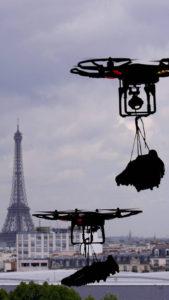 Emergence d'un concept de vertiport, à destination des drones et taxis aériens