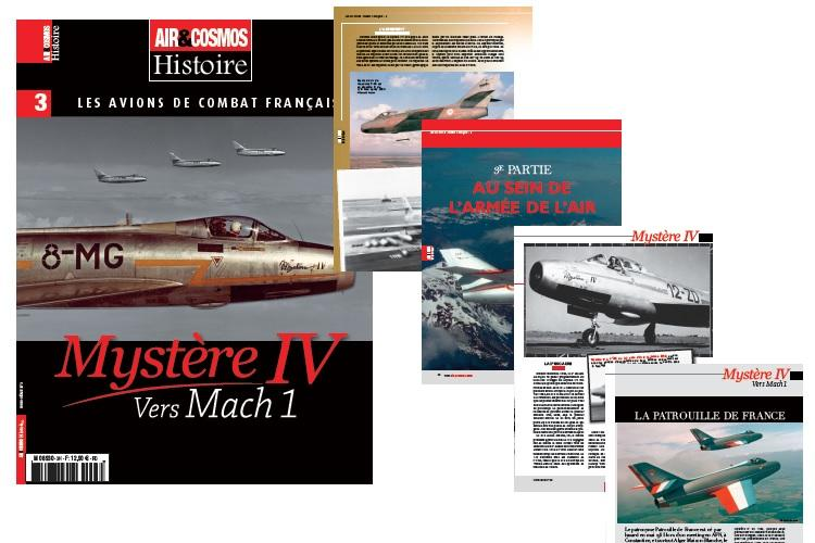 Mystère IV de Dassault, notre hors-série est en vente sur notre eBoutique