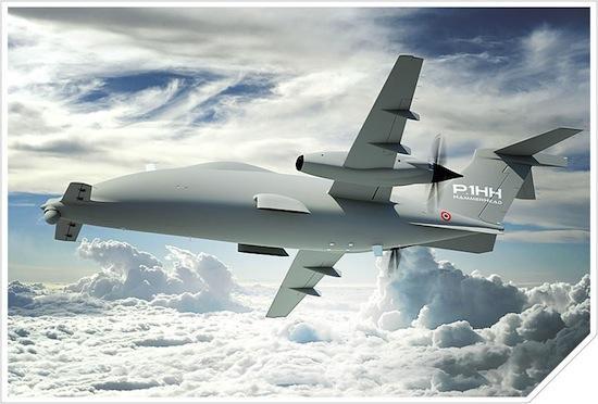 Leonardo contrôle un drone grâce à un satellite