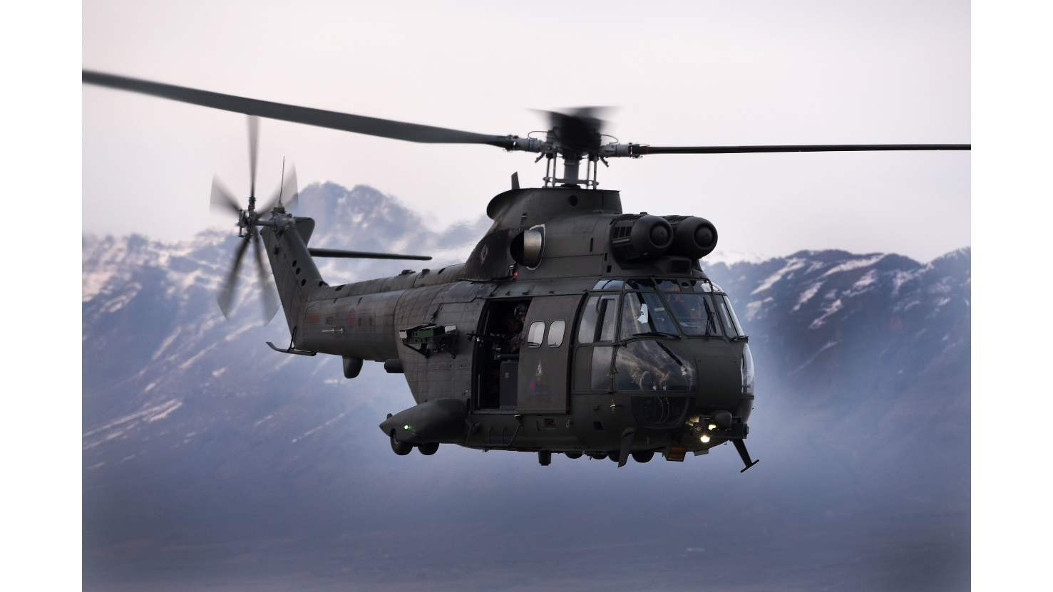Airbus, UK MoD sign RAF Puma 2 support deal