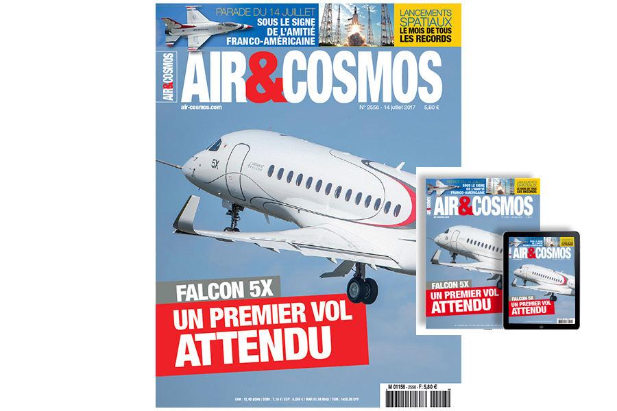 Falcon 5X, Ryanair, 14 juillet, lancements orbitaux de juin, cette semaine dans Air et Cosmos