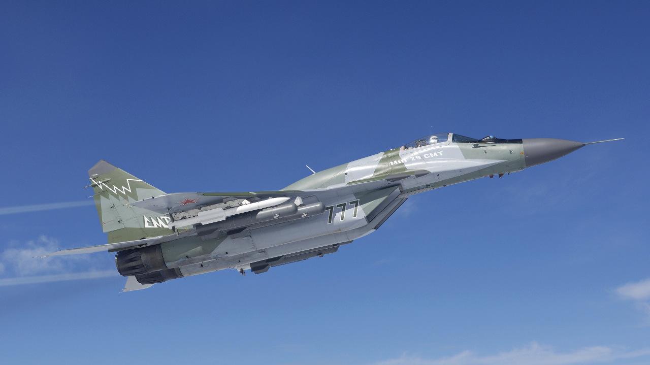 Russie : livraison du premier MiG-29SMT commandé en 2014
