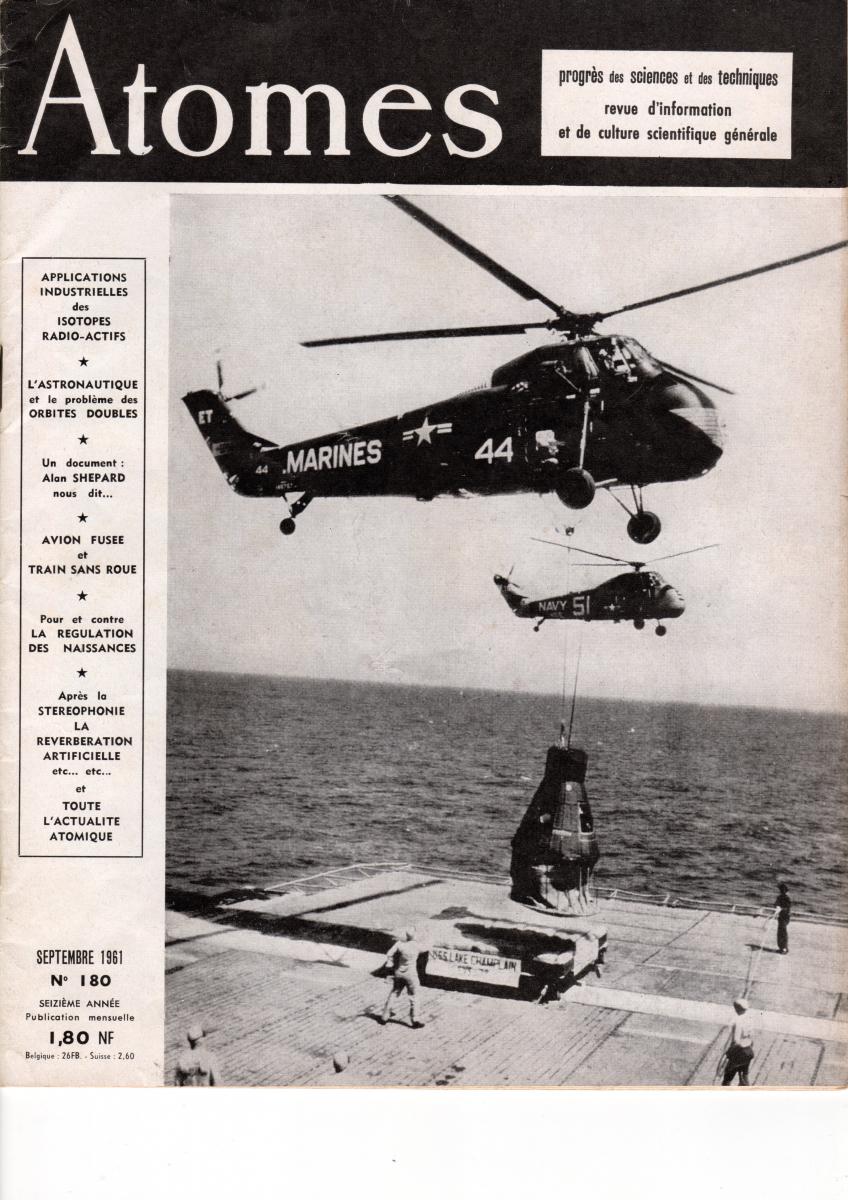 Il y a 60 ans, le « saut de puce » d'Alan Shepard