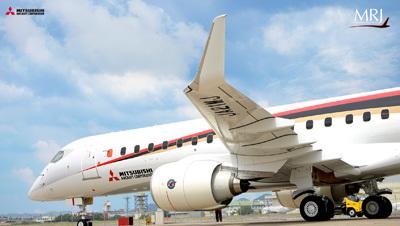 Farnborough 2016 : premier client européen pour le jet régional japonais MRJ