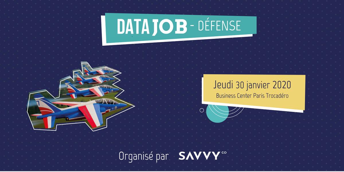 Le 1er événement de recrutement de profils data Défense & Cybersécurité