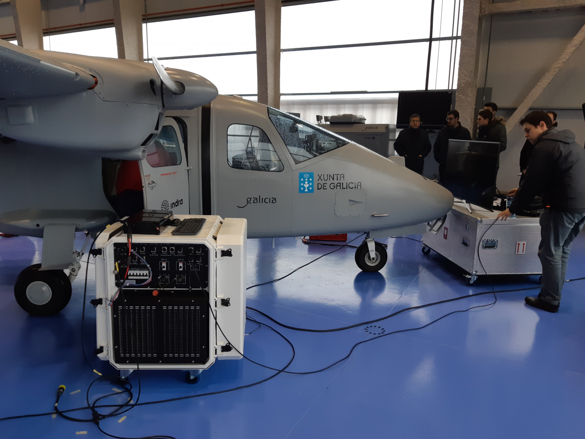 Indra: un drone de taille