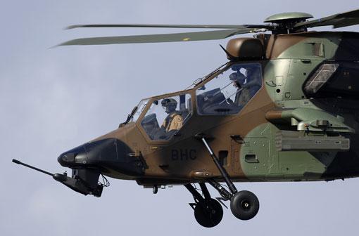 La DGA commande 7 hélicoptères Tigre supplémentaires