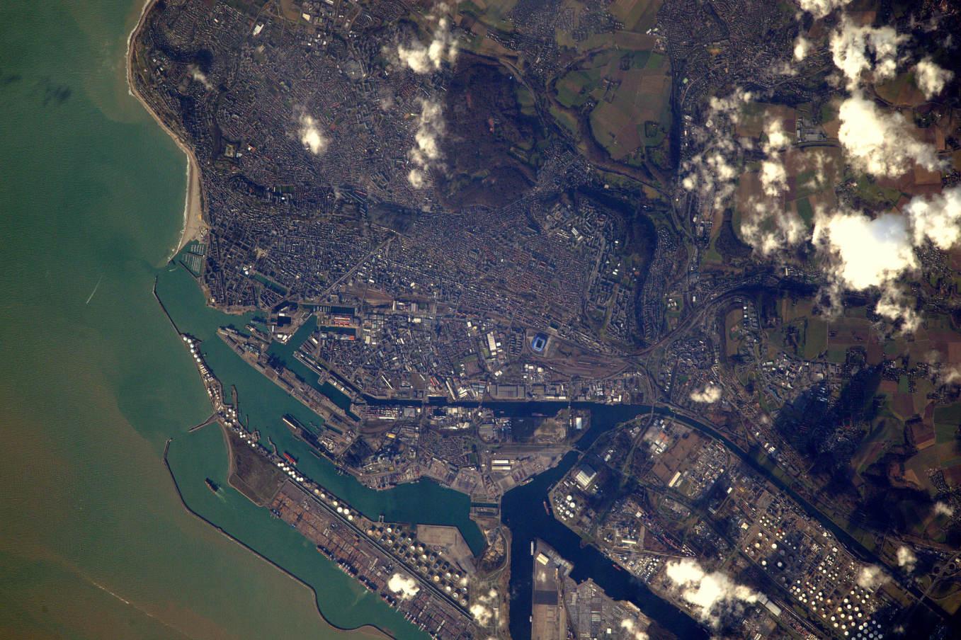 La Terre dans l'oeil de Thomas Pesquet #20 : le Havre