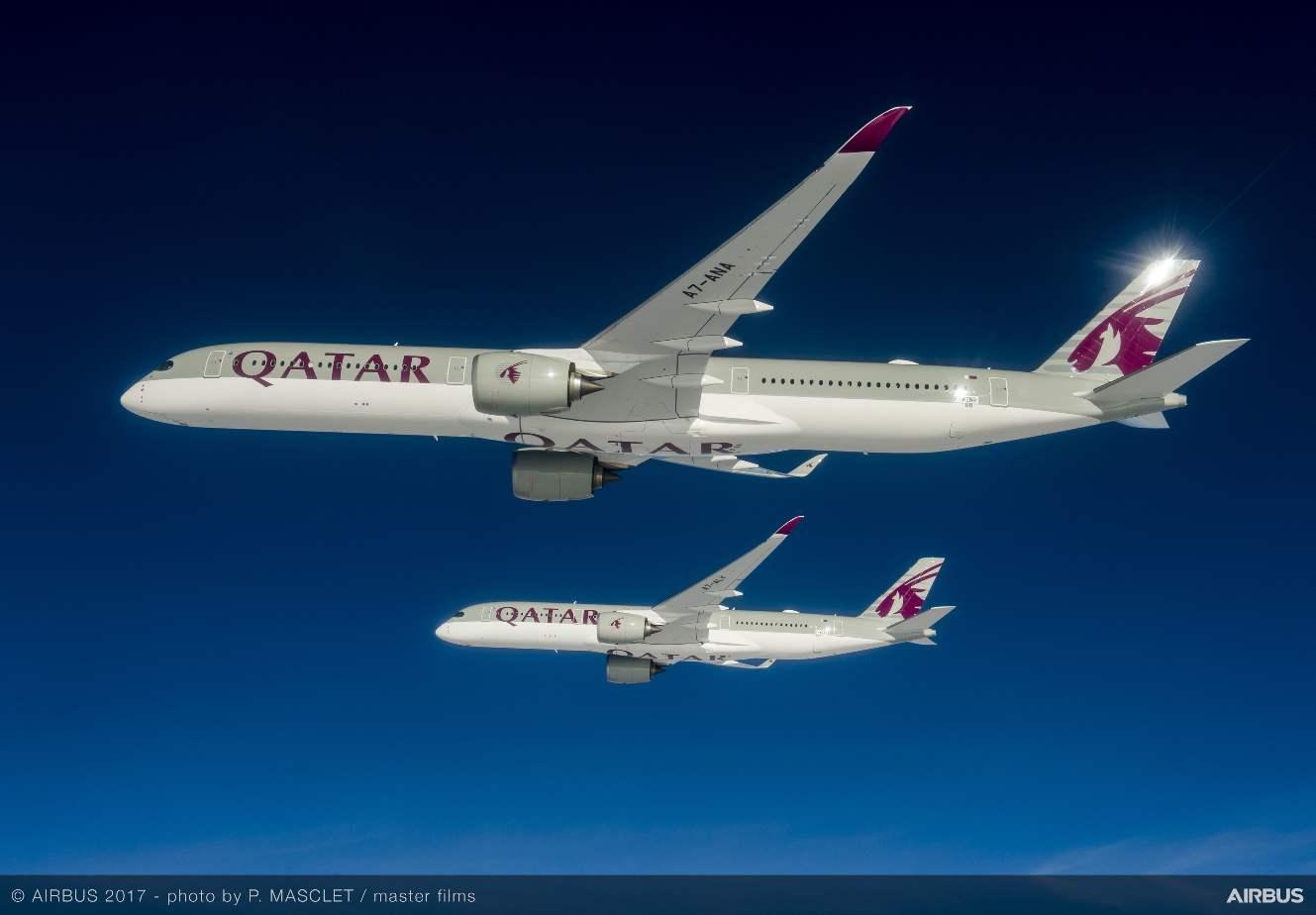 Qatar Airways first to receive Airbus A350-1000