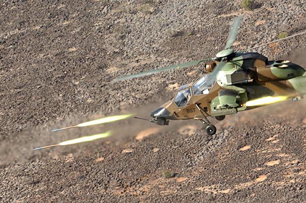 Le Tigre tire sa première roquette à guidage laser