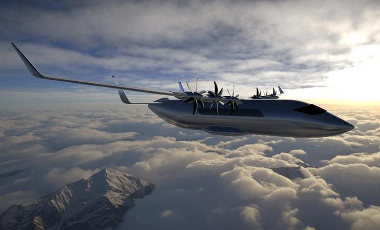 Aura Aero étudie un avion de transport régional électrique