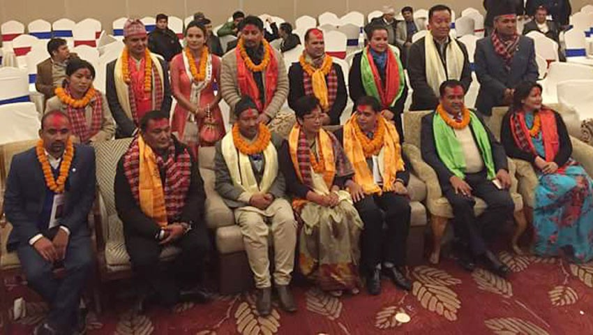 Pandey elected Chairperson of NATTA