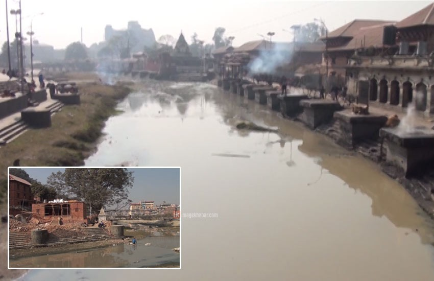 Bagmati Cleanup Campaign: River again gets polluted