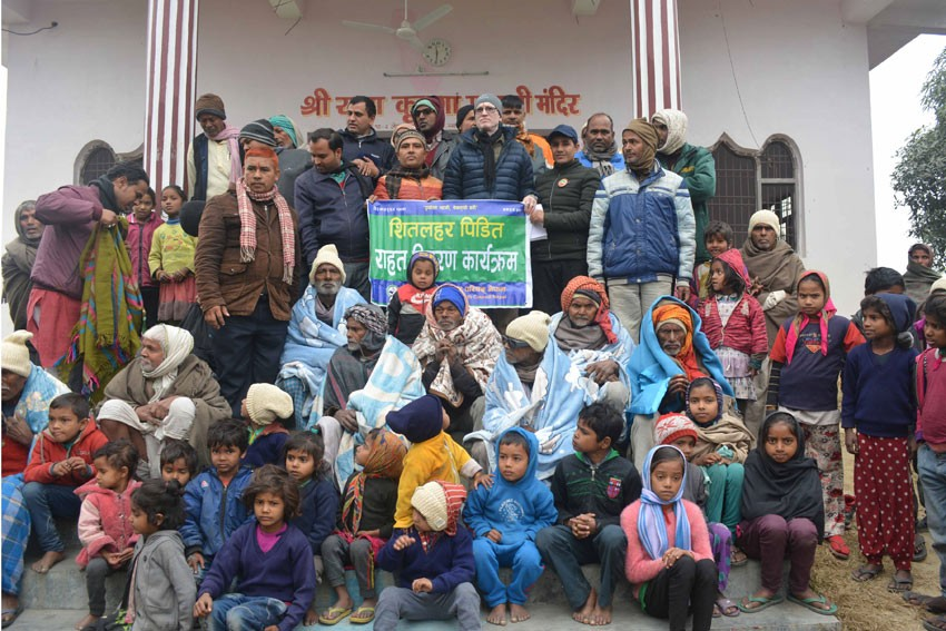 Warm clothes distributed to 100 poor families in Bara
