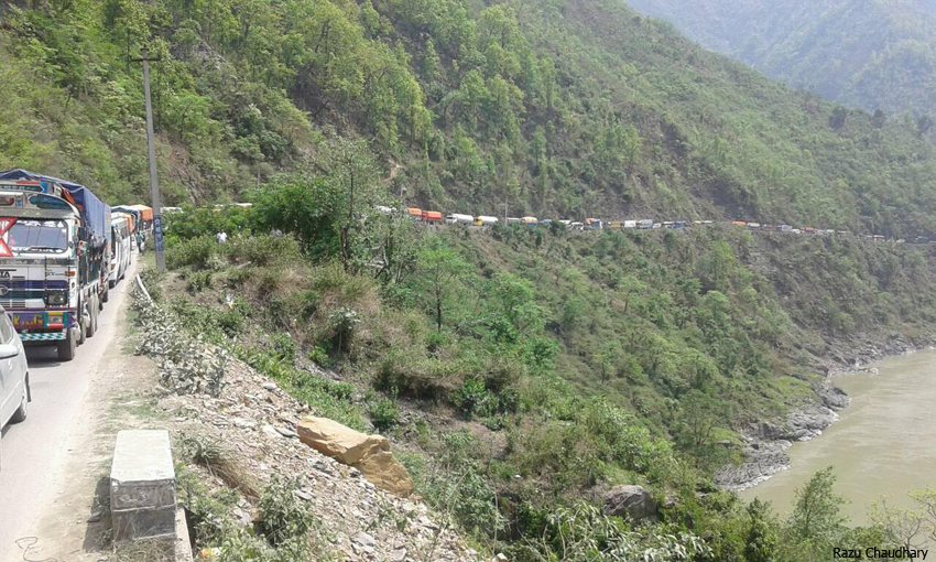 Narayangarh-Muglin road widening costs to increase by Rs 430 million