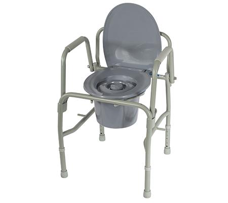 Кресло-туалет 10583 с откидывающимися подлокотниками