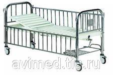 Кровать медицинская функциональная механическая (подростковая) B-35