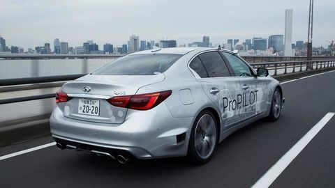 Thumb nissan tests fully autonomous prototype technology on streets of tokyo2