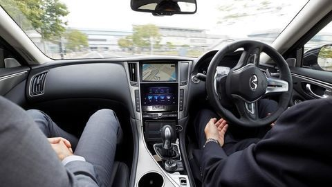 Thumb nissan tests fully autonomous prototype technology on streets of tokyo3