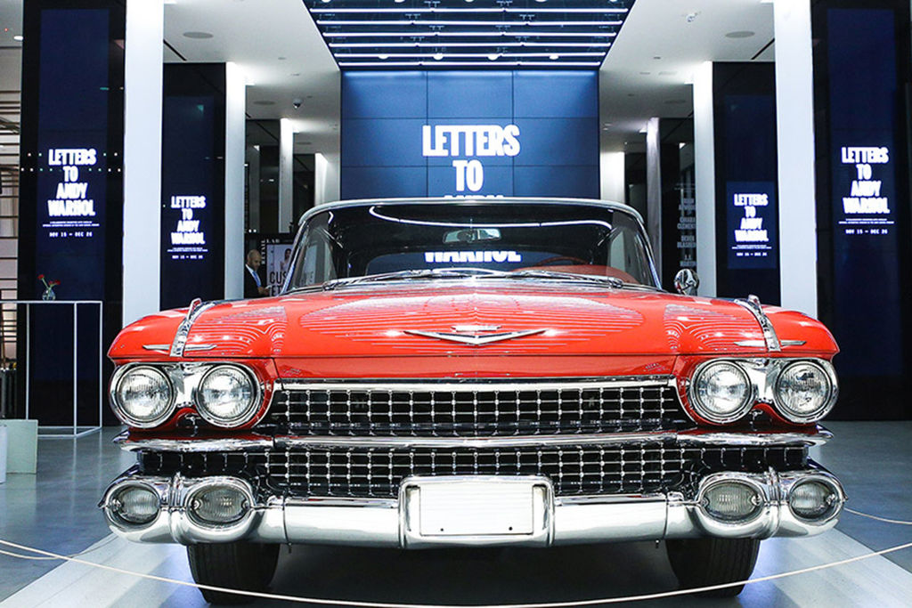 Content large letters andy warhol cadillac 02