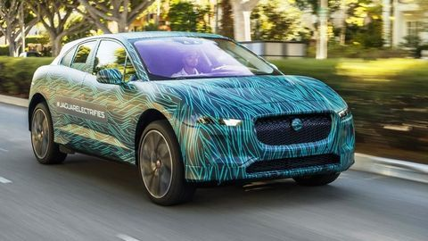 Thumb jaguar i pace completes final testing in los angeles ahead of 2018 reveal