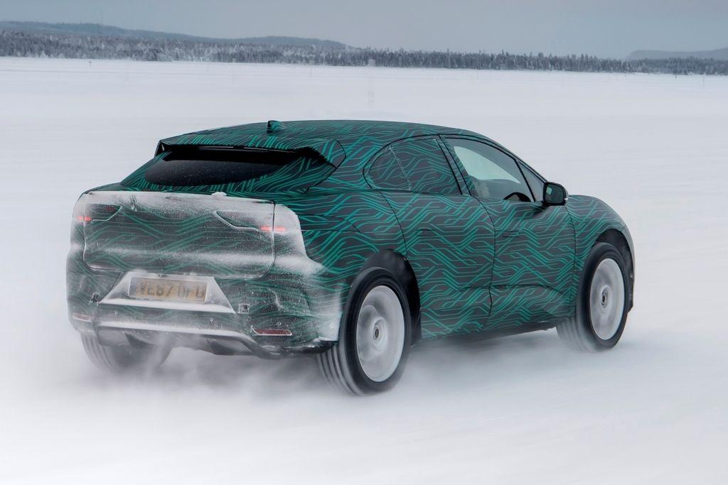 Content jaguar i pace winter testing 2