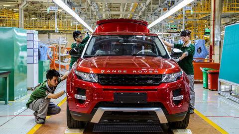 Thumb range rover evoque assembly china 2