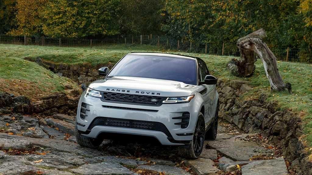Content range rover evoque teren