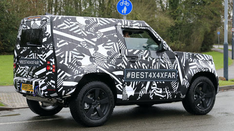 Thumb land rover defender 90 008
