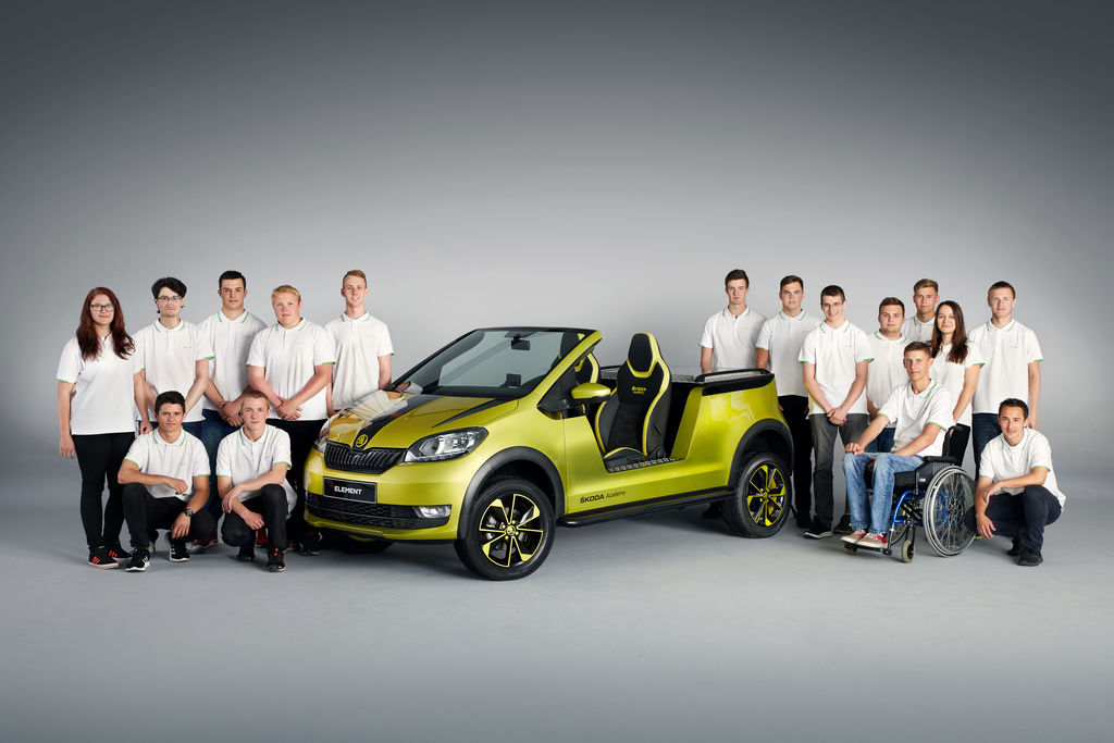 Content 170619 skoda element skoda students build electric buggy 1