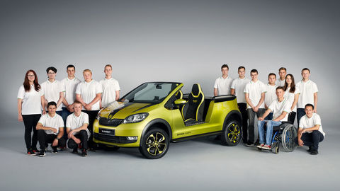 Thumb 170619 skoda element skoda students build electric buggy 1