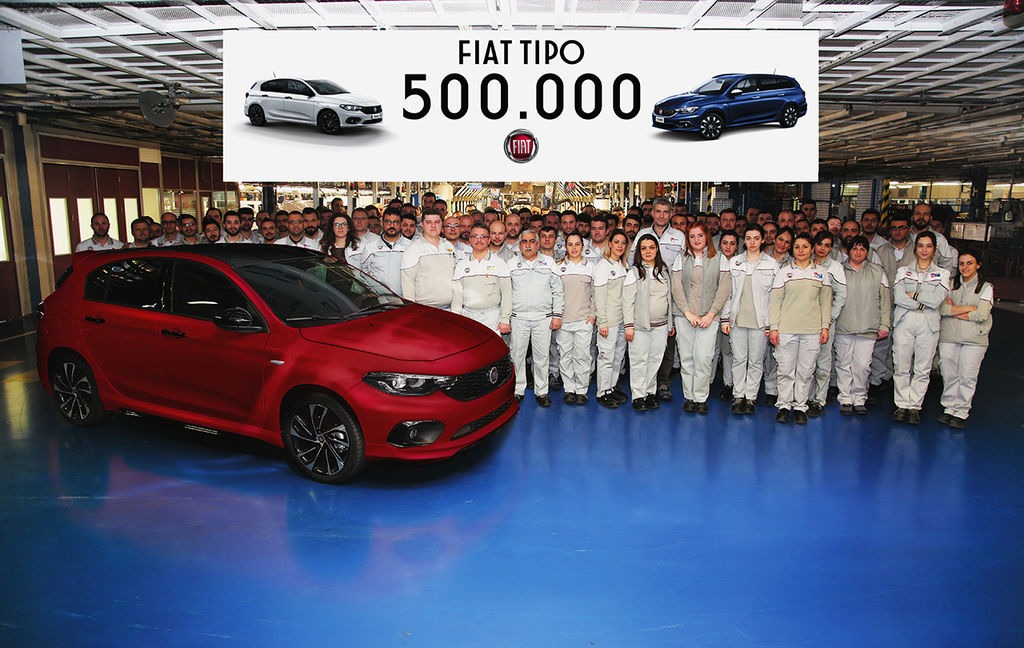 Content 500000th fiat tipo rolls off the production line 132636 1