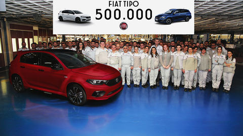 Thumb 500000th fiat tipo rolls off the production line 132636 1