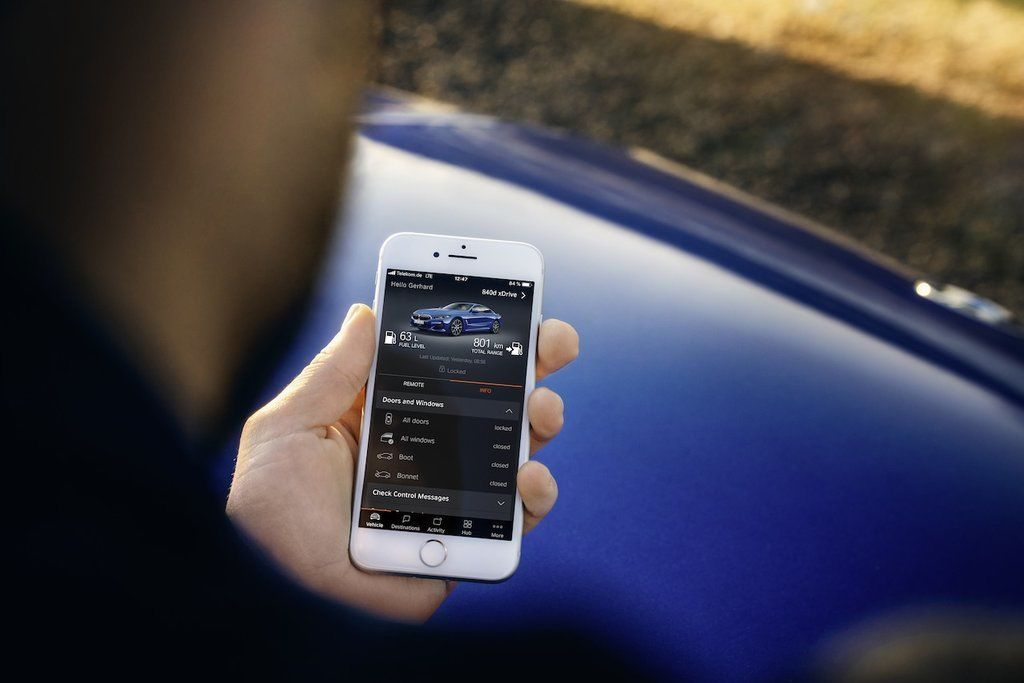 Content bmw connected app
