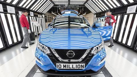 Thumb nmissan 10 millionth vehicle in production at the nissan sunderland plant  1
