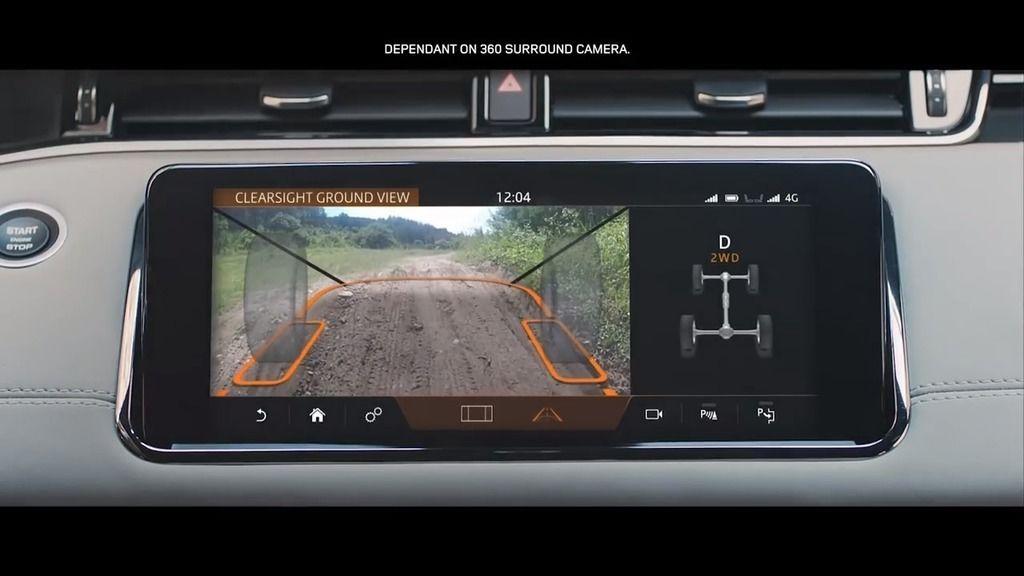 Content range rover evoque mit clearview