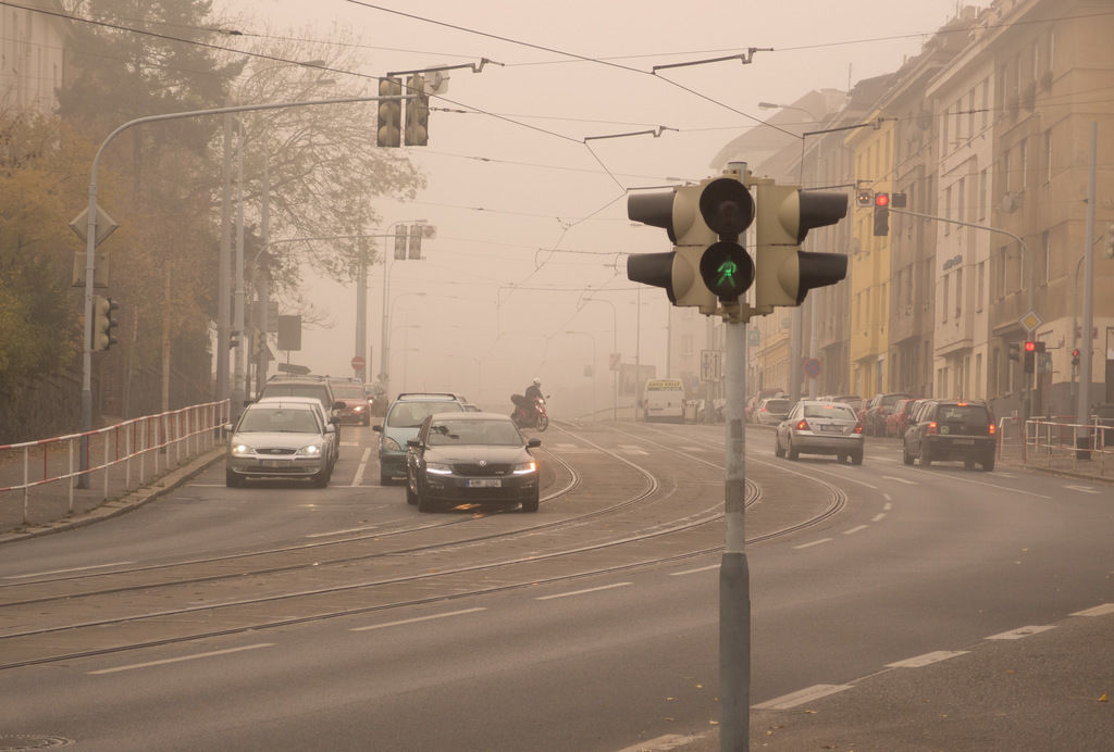 Content content urban smog caused by cars