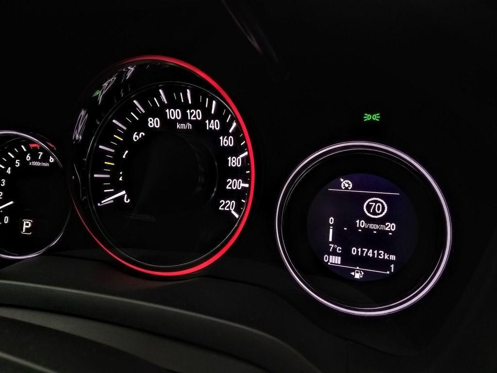 Content test honda hr v sport 1 5 vtec turbo autozurnal 14