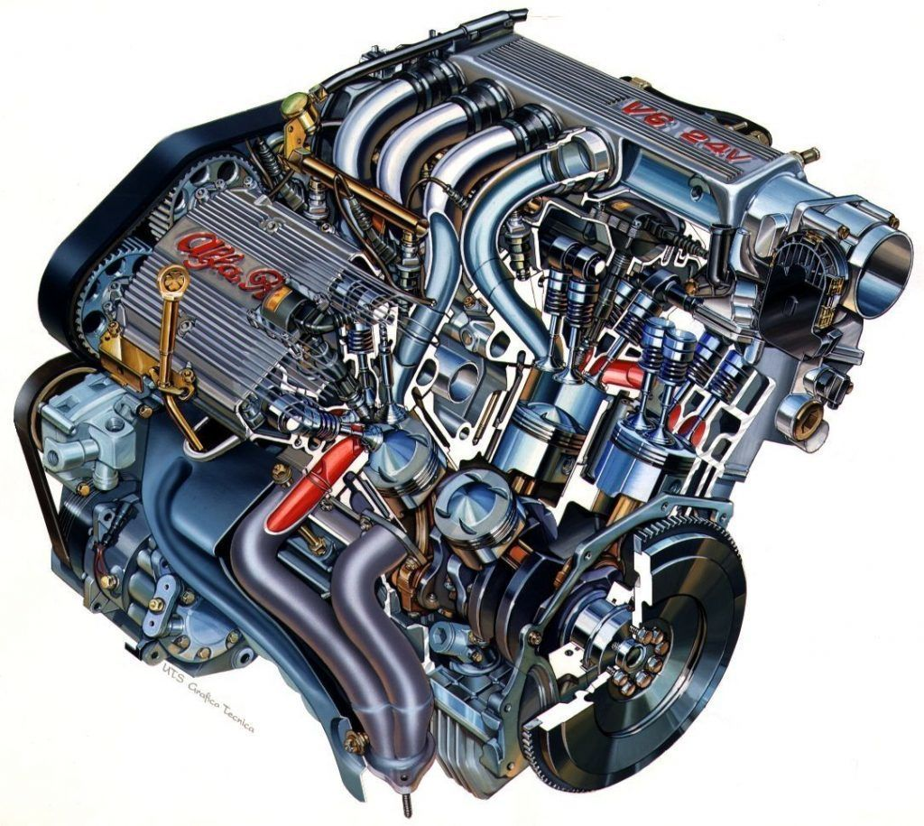 Content motor alfa romeo busso v6 autozurnal  3