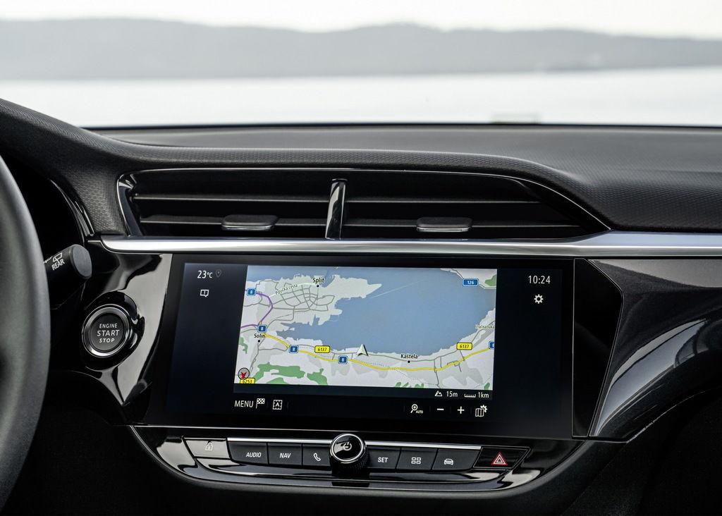 Content opel corsa elegance grey navigation 509877