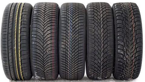 Thumb test zimnych letnych celorocnych pneumatik pri toznych teplotach autozurnal 5
