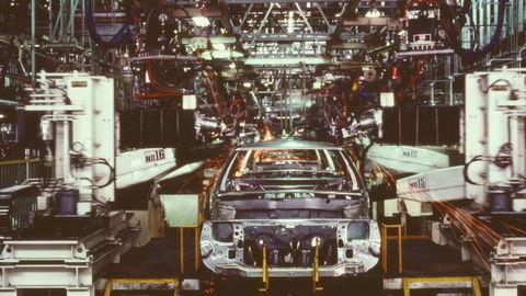 Thumb mazda assembly line