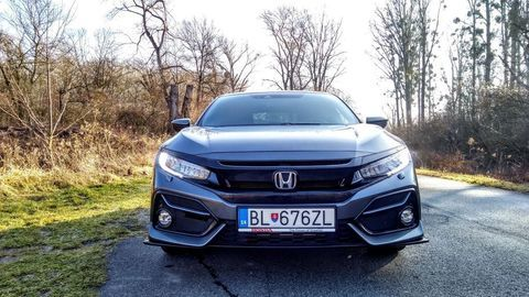 Thumb test honda civic 1.0 turbo sport line autozurnal 10