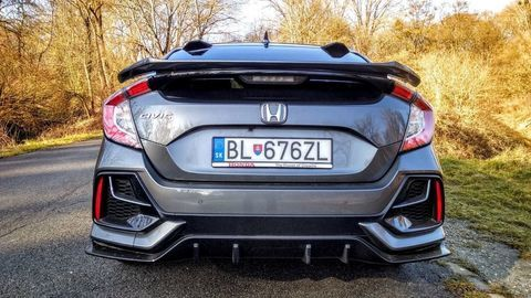 Thumb test honda civic 1.0 turbo sport line autozurnal 32